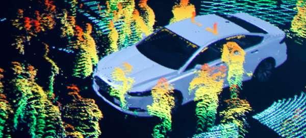 sensores equipados en coches inteligentes