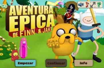 Hora de Aventura Aventura Epica de Finn y Jake