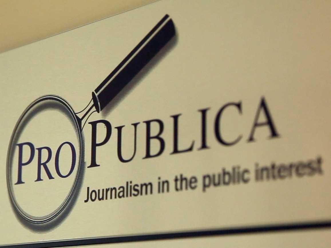 propublica Nuevo diseño de investigacion en la Wep